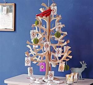 Adventskalender Holz Baum : tannenbaum adventskalender bild 8 living at home ~ Watch28wear.com Haus und Dekorationen