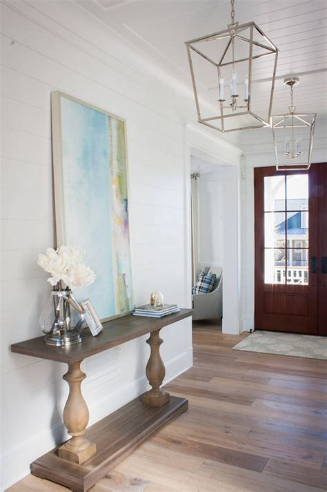 Foyer Lighting by New House With Coastal Interiors Home Bunch