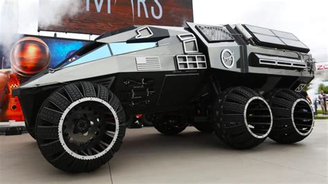 nasas mars rover concept   batmans  car