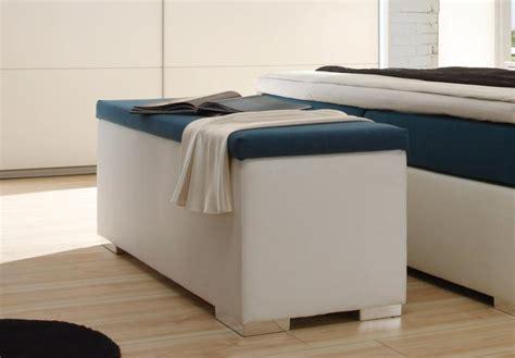 sitzbank für schlafzimmer sitzbank chest truhe schlafzimmer in wei 223 und petrol