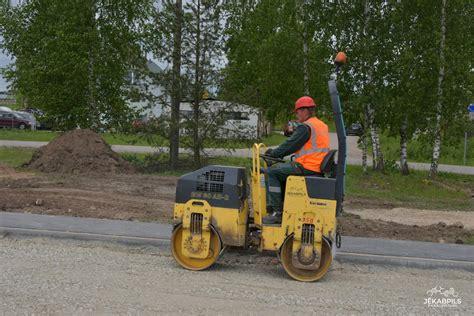 Būvdarbi skeitparka un trenažieru laukumā norit veiksmīgi