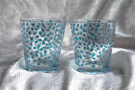 sciacqua bicchieri decorare il vetro brico come eseguire decorazioni su vetro