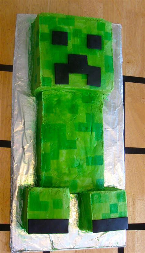 minecraft creeper cake the a minecraft birthday