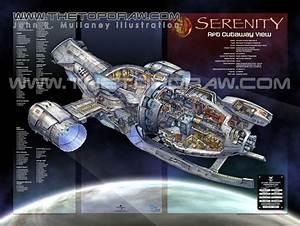 Serenity Ship Schematics