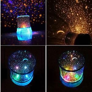 Hot Gift Kids Sleep Star Night Light Lamp Projector Space ...
