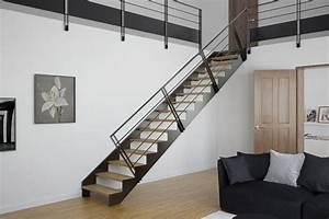 Mezzanine Metallique En Kit : vente d 39 escalier m tallique en kit lyon stairkaze ~ Premium-room.com Idées de Décoration