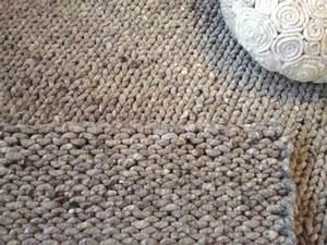 Teppich Aus Schafwolle : strick teppich living room pinterest stricken teppich h keln and textilien ~ Markanthonyermac.com Haus und Dekorationen
