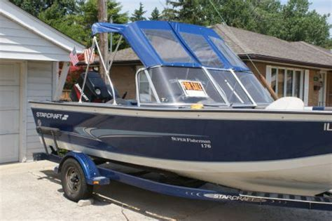 Used Open Bow Boats For Sale Near Me by Boats For Sale 2000 18 Foot Starcraft Fisherman 176