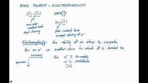 8 4 Bond Polarity And Electronegativity