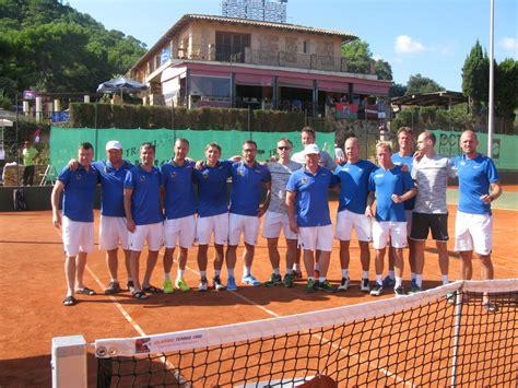 Liepājas tenisa senioru komandai līdz šim labākais panākums Eiropas čempionātā - Teniss ...