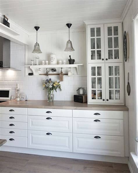 77 Besten Ikea Küche Landhausstil Metod Bodbyn Bilder Auf