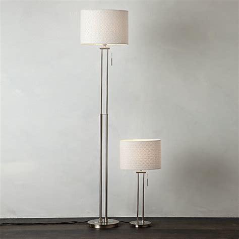 preston table floor lamp light shade duo  bedroom