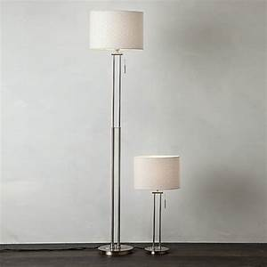 buy john lewis preston table and floor lamp duo john lewis With john lewis malia floor lamp white