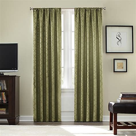 Buy Athena Rod Pocket Blackout 63 Inch Window Curtain