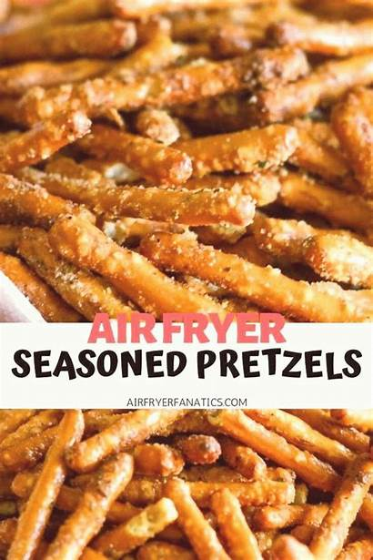 Fryer Air Recipes Pretzels Seasoned Appetizers Dinner