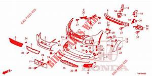 Front Bumper For Honda Cars Civic Type R 5 Doors 6 Speed