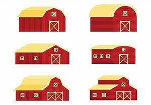 Red Barn Vector Icons - Download Free Vector Art, Stock ...