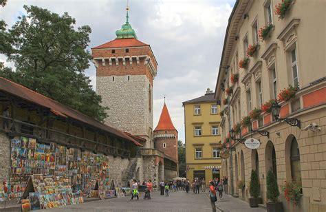 Brama Floriańska w Krakowie - Polskie Szlaki