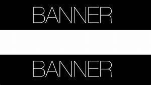 [Photoshop] Banner para Youtube Taringa!
