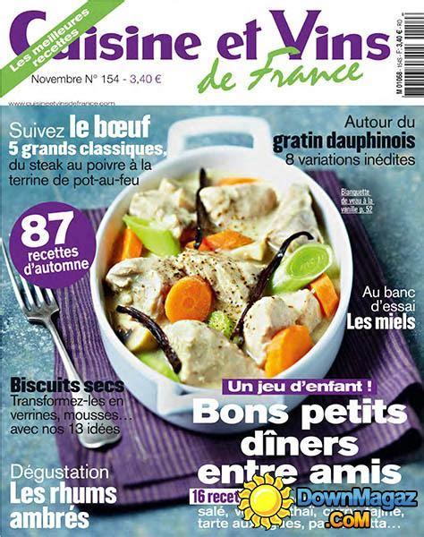 cuisines et vins de cuisine et vins de novembre 2013 no 154