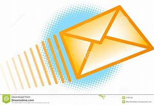 Sending Email Envelope stock vector. Image of icon, open ...