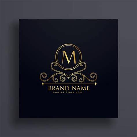 letra premium m logo conceito design com elemento decorativo download vetores e gr 225 ficos gratuitos