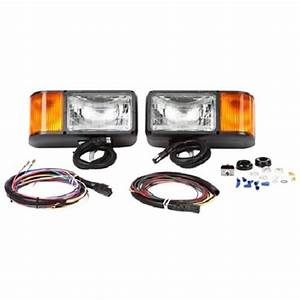 Truck Lite 80888p Snow Plow Light Kit With Wiring Harness