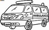 Ambulance Coloring Pages Sketch Colouring Drawing Sheets Printable Cartoon Truck Moveable Hospital Vehicles Ambulances Coloringbay Lego Monster Ws Colorings Called sketch template