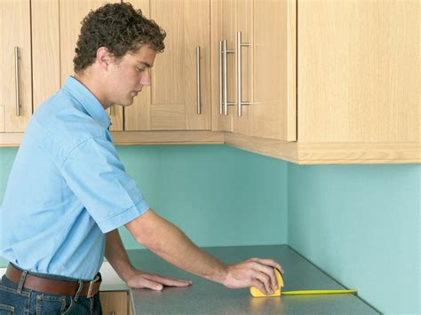 how to measure kitchen countertops how to install a countertop how tos diy