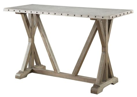 Driftwood Sofa Table From Coaster 703749 Coleman Furniture
