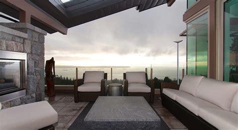 penthouse terrace lakeview interior design ideas