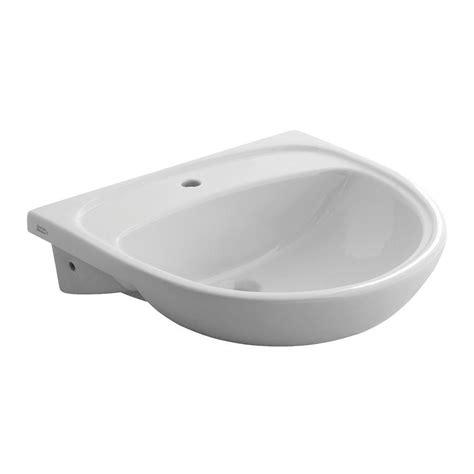 Home Depot Bathroom Sinks Drop In by American Standard Mezzo Drop In Semi Countertop Bathroom
