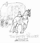 Gypsy Coloring Pages Vanner Danger Gipsy Getcolorings Printable Horse Getdrawings sketch template