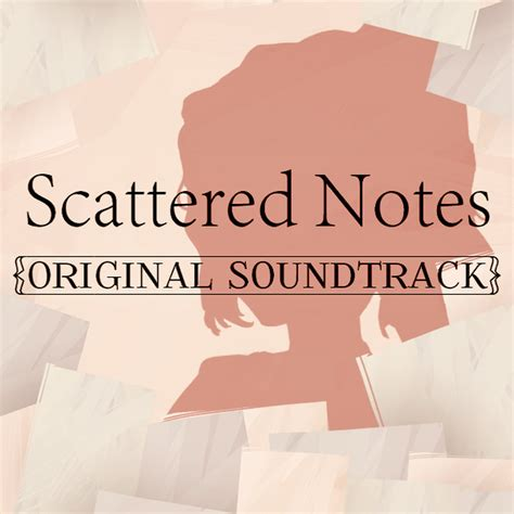 letter soundtrack cover scattered notes original soundtrack soundtrack from