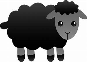 Free Black Sheep Clipart - The Cliparts
