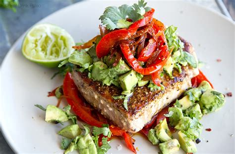 tuna steak recipes spiced mexican tuna steak recipe