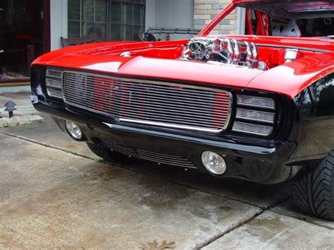 67-69 Camaro Rs/ss Aluminum Billet Grill Insert