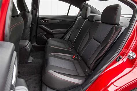 subaru impreza  sport rear interior seats motor