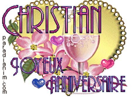 coeur gif bon anniversaire  christian gif anime