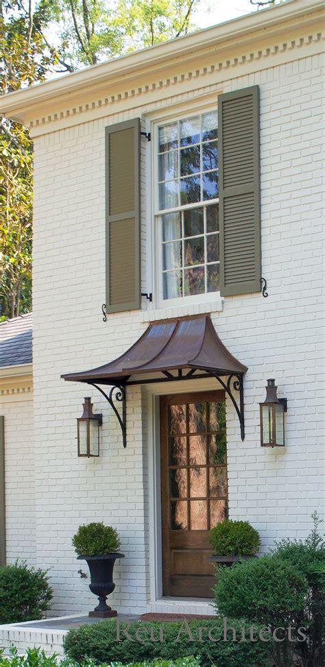 renovation  reu architects wwwreuarchcom custom awning  calhoun metalworks canopies