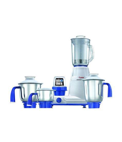 ls plus hiring prestige deluxe plus ls mixer grinder blue available at