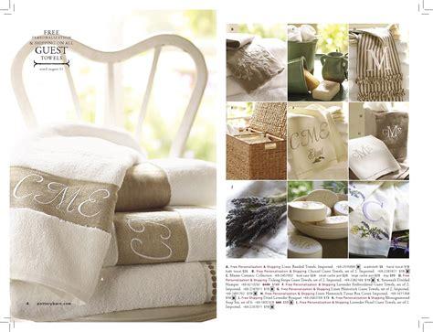 pottery barn bed and bath pottery barn bed bath catalog on behance