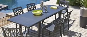 Table De Jardin Solde : table de jardin alpha 150 240 grosfillex ~ Teatrodelosmanantiales.com Idées de Décoration