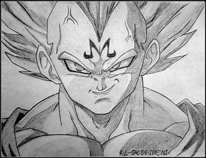 Majin Vegeta by animeR96 on DeviantArt