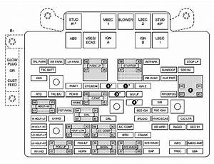 2008 Chevy Avalanche Fuse Box Diagram
