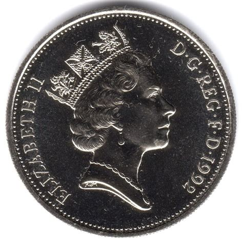 p coin rare uncirculated collectable  large style ten pence  ebay