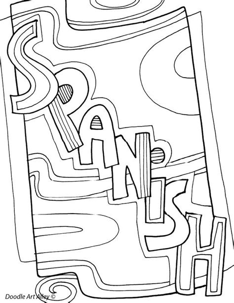 Classroom Coloring Pages 40 Best Images About Classroom Doodles On