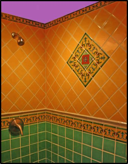 mexican tile bathroom ideas remodel your shower with mexican tile mexican tile designs