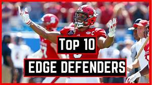 Top 10 Edge Rushers in The 2018 NFL Draft | NFL Draft ...