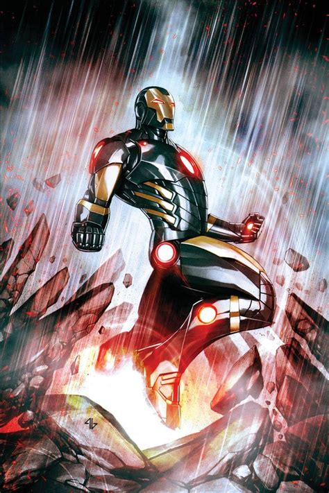 Iron Man 1 Variant Cover By Adi Granov On Comic Art